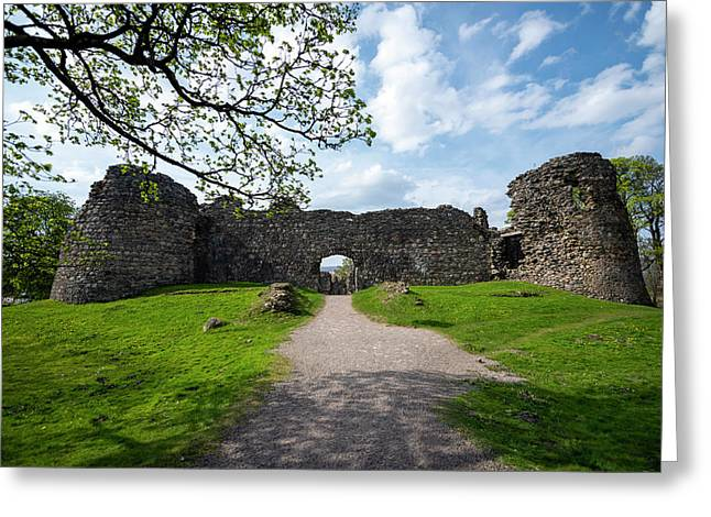 Little Castle In Scotland Greeting Card