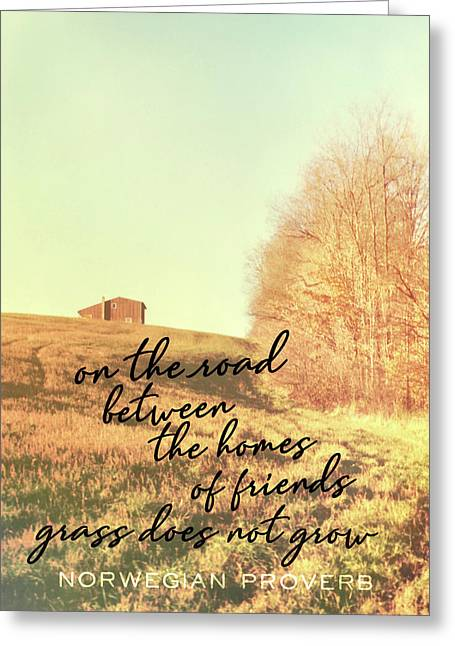 Little Getaway Quote Greeting Card by JAMART Photography