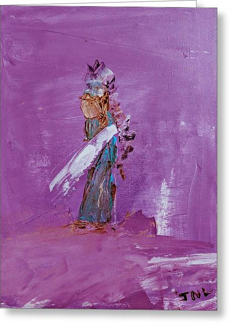 Little Indian Angel Greeting Card