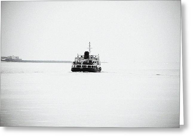 Liverpool. The Mersey Ferry 'royal Iris' Greeting Card