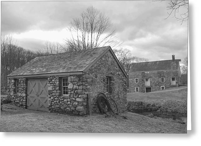 Lock House And Store - Waterloo Village Greeting Card