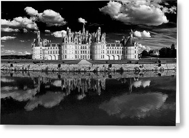 Loire Castle, Chateau De Chambord Greeting Card