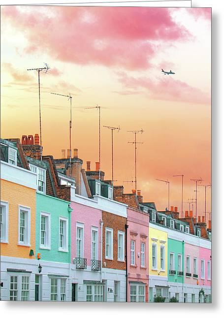 London Dreams Greeting Card