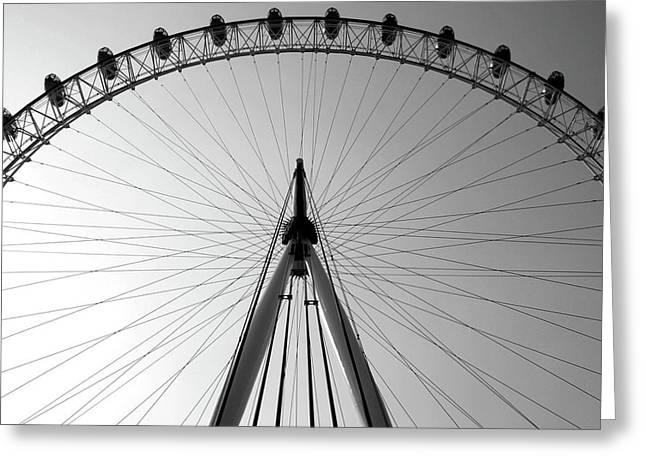 London_eye_i Greeting Card