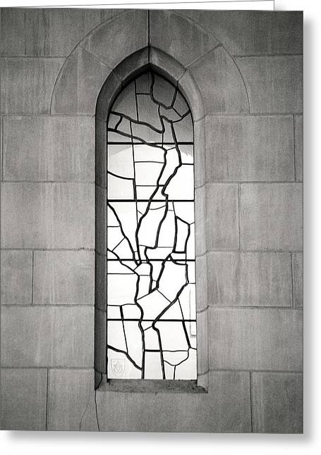 Lone Cathedral Window Greeting Card