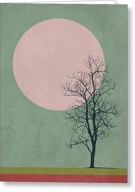 Lonely Tree II Greeting Card