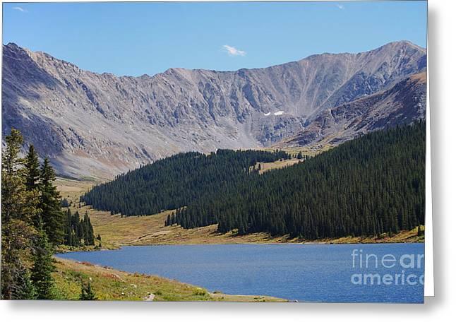 Longs Peak Colorado Greeting Card