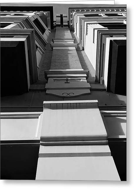 Greeting Card featuring the photograph Looking Up by Jeni Gray