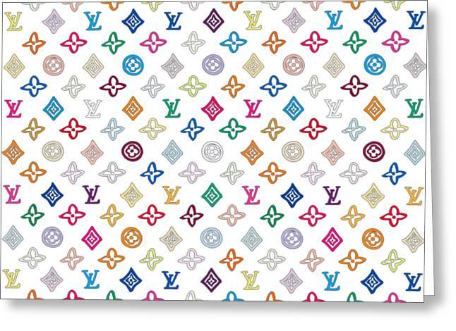 Louis Vuitton Monogram-1 Greeting Card