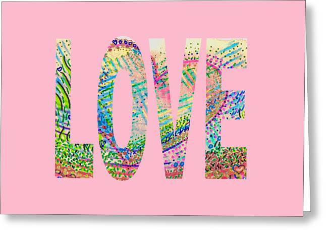 Love 1001 Greeting Card