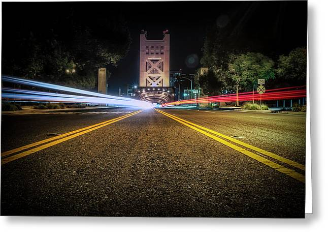 Greeting Card featuring the photograph Love Is A Two Way Street by JD Mims