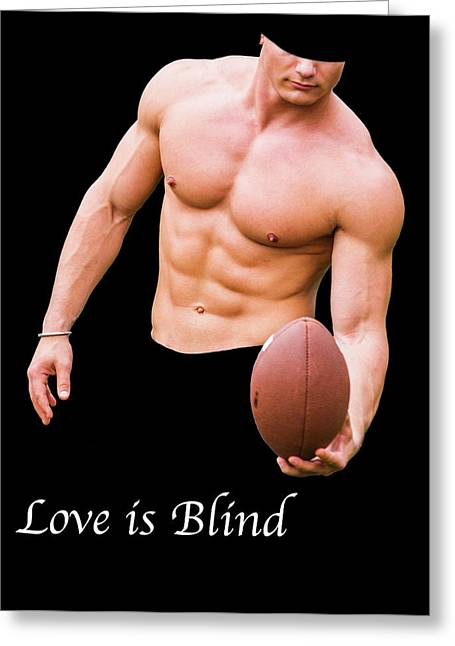 Love Is Blind 2 Greeting Card