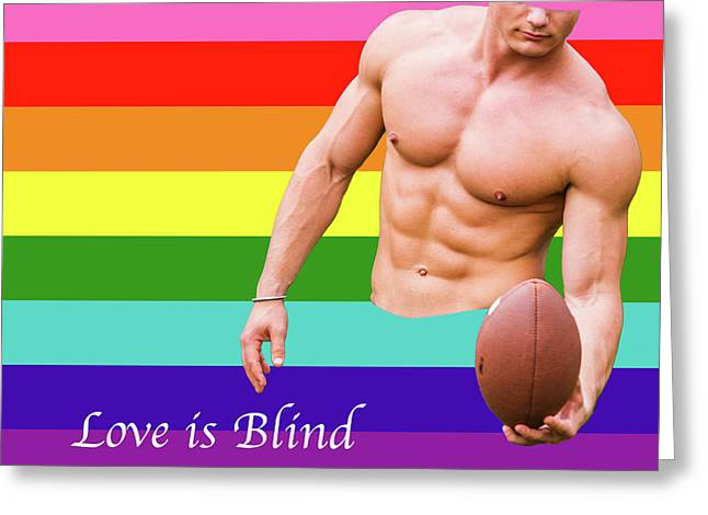 Love Is Blind 4 Greeting Card
