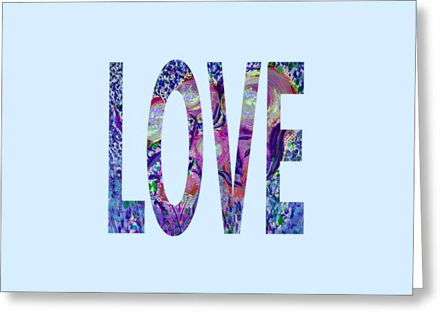 Love Letters 3 Greeting Card