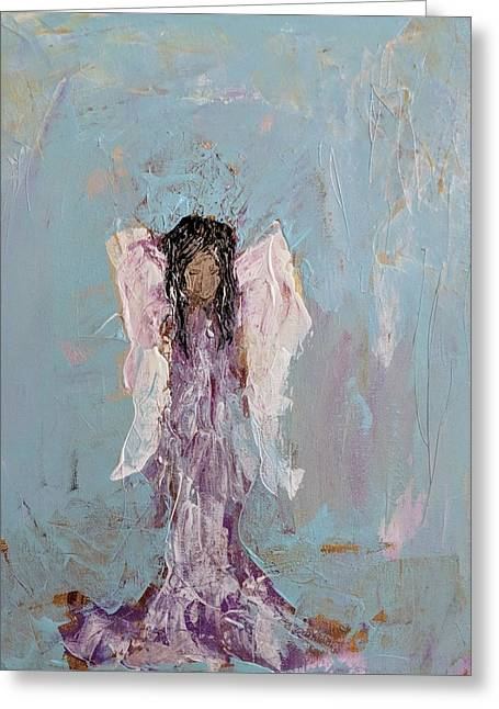 Lovely Angel  Greeting Card