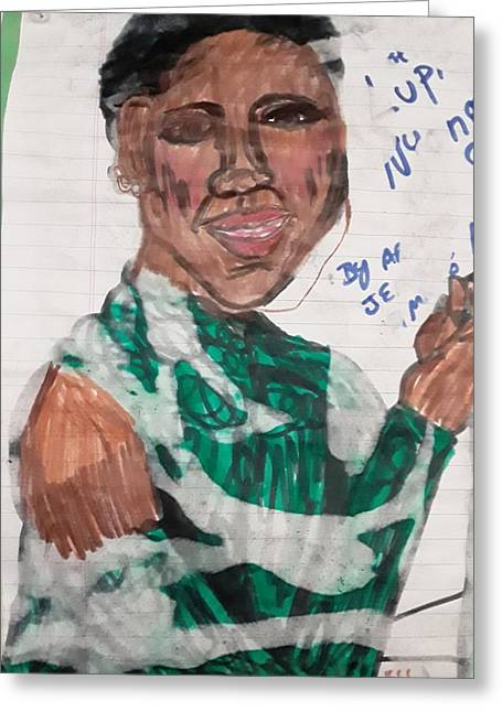 Lupita  Greeting Card
