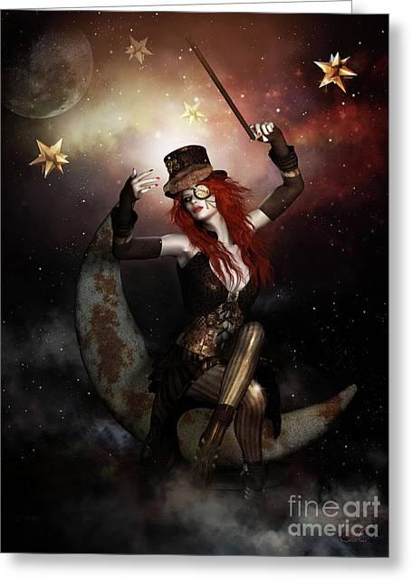 Maestro Steampunk Greeting Card