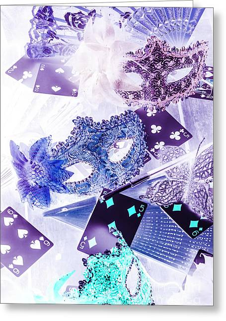 Magical Masquerade Greeting Card