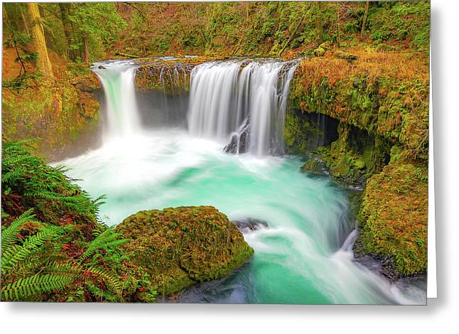 Magical Waters Greeting Card