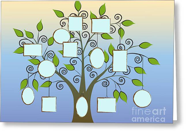 Make Your Family Tree Greeting Card