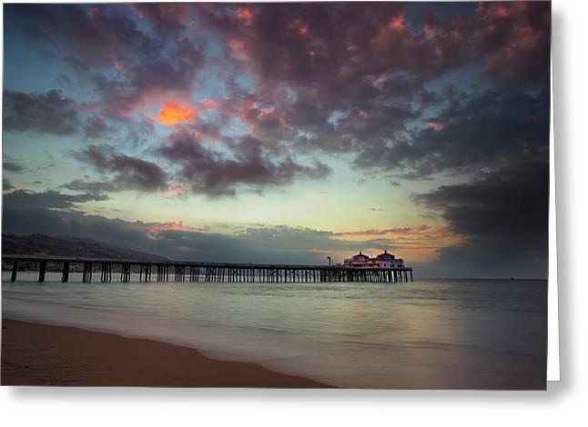 Malibu Pier IIi Greeting Card