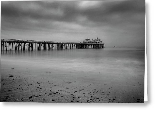 Malibu Pier Greeting Card