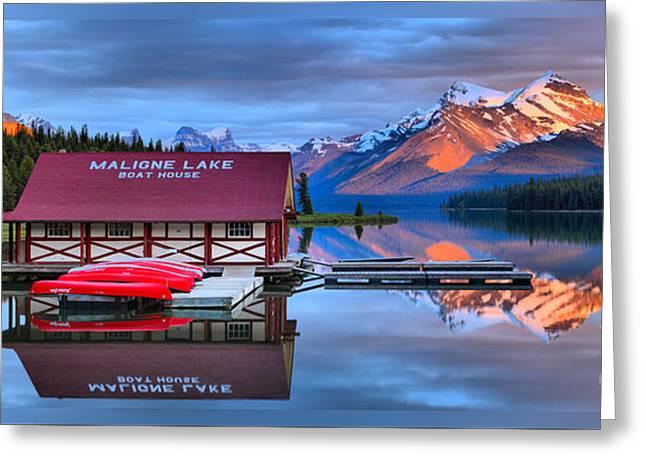 Maligne Lake T-shirt Greeting Card