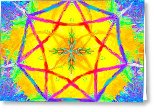Mandala 12 9 2018 Greeting Card
