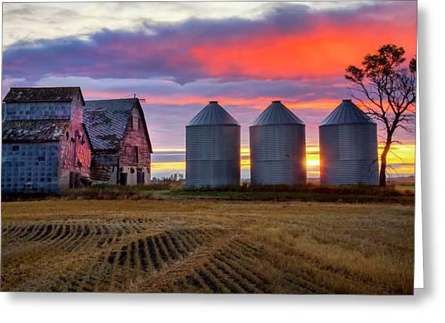 Manitoba Rural Scene Greeting Card