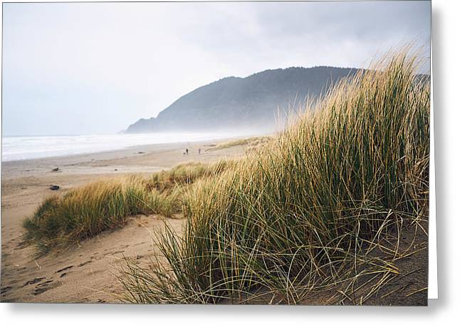 Manzanita Beach Greeting Card
