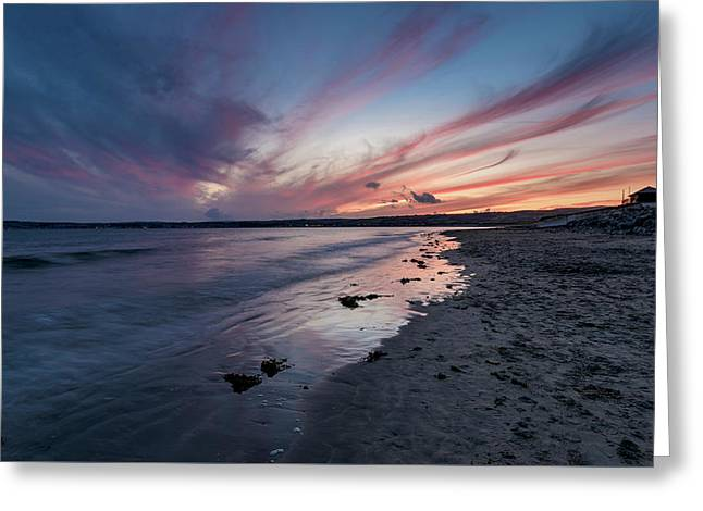 Marazion Sunset - Cornwall Greeting Card