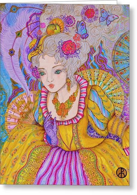 Marie Antinette Greeting Card