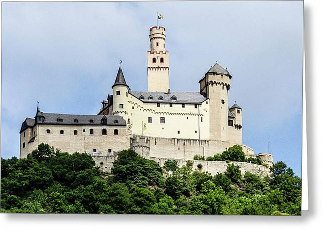 Marksburg Castle Greeting Card