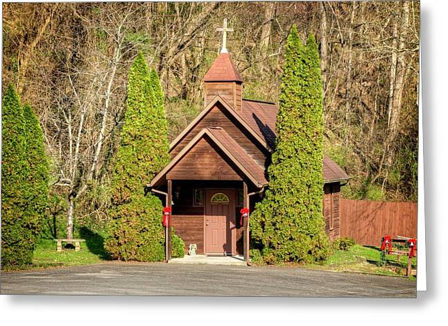 Marriage Chapel Pidgeon Forge Tennessee Greeting Card