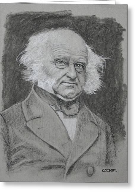 Martin Van Buren Greeting Card