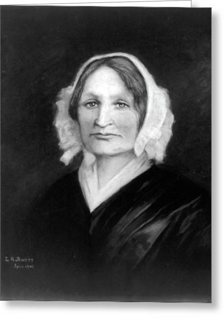 Mary Lyon, American Educator Greeting Card