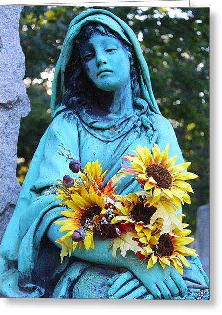 Mary, Mother Of Jesus Greeting Card
