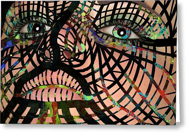 Mask I Am So Much More Than You See Greeting Card