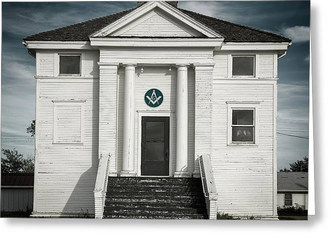 Masonic Hall Greeting Card
