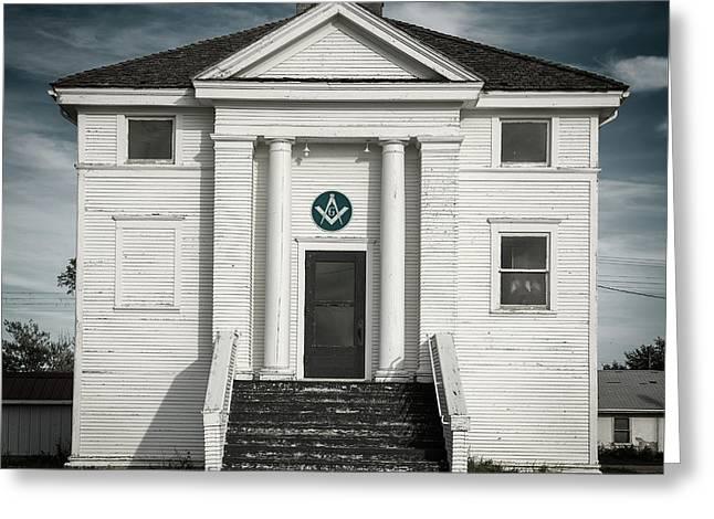 Masonic Hall Greeting Card