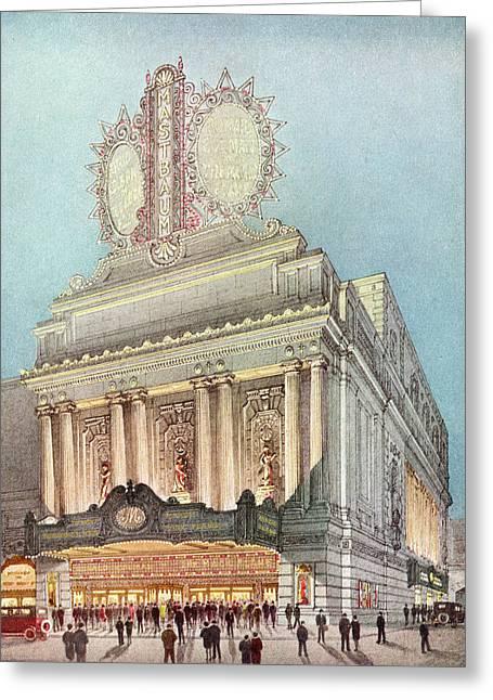 Mastbaum Theatre Greeting Card
