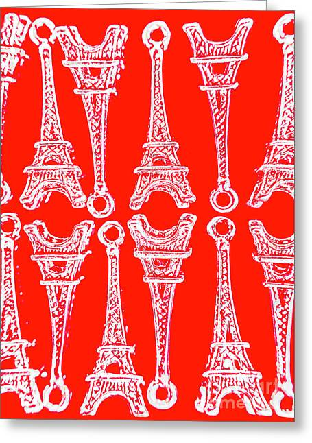 Match Made In Paris Greeting Card
