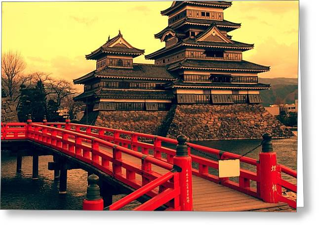 Matsumoto Castle, Japan Greeting Card