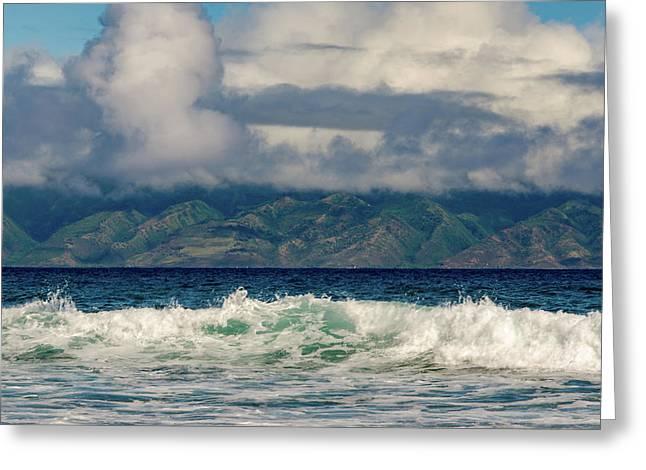 Maui Breakers II Greeting Card