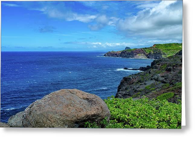 Maui Coast II Greeting Card
