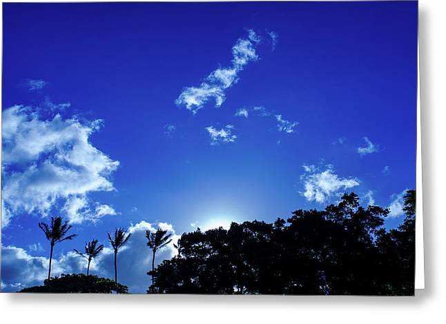 Maui Sky Greeting Card