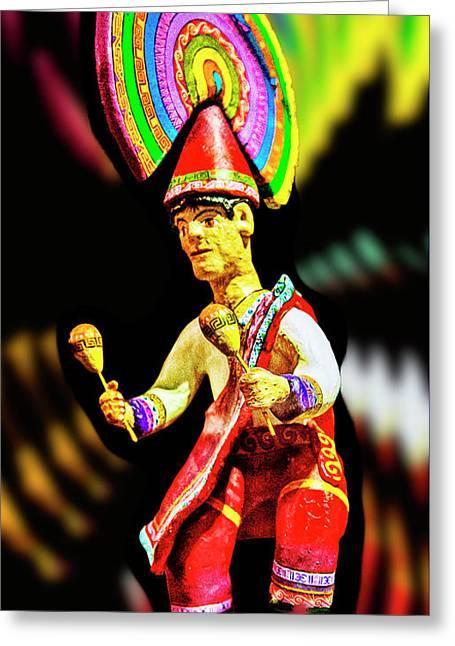 Mayan Dancer Greeting Card