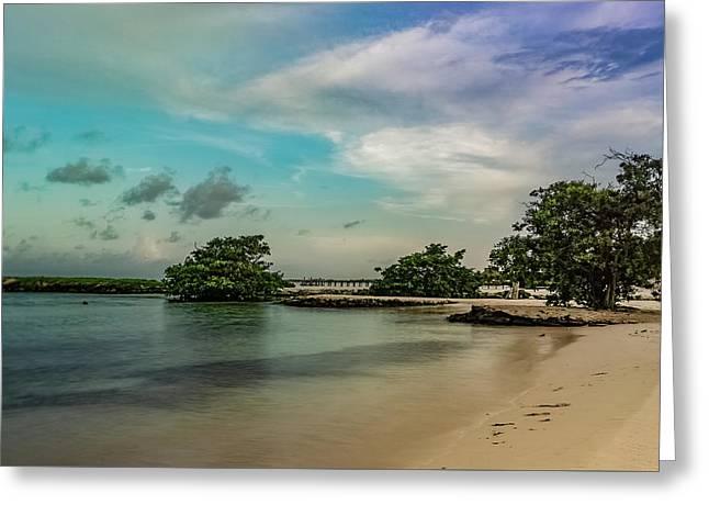 Mayan Shore 2 Greeting Card