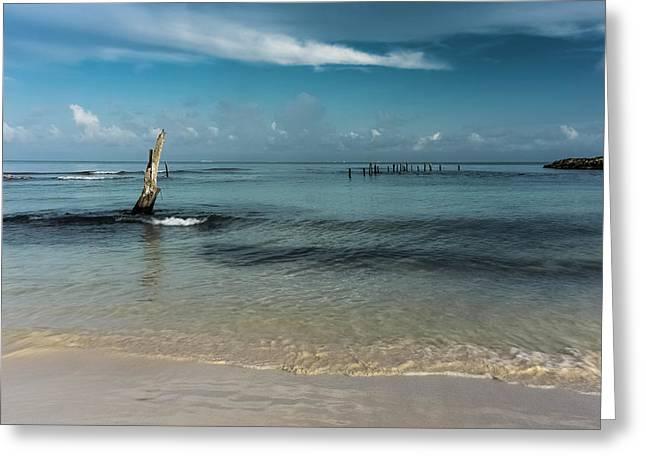Mayan Shore 3 Greeting Card