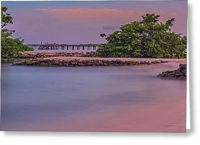 Mayan Shore Greeting Card